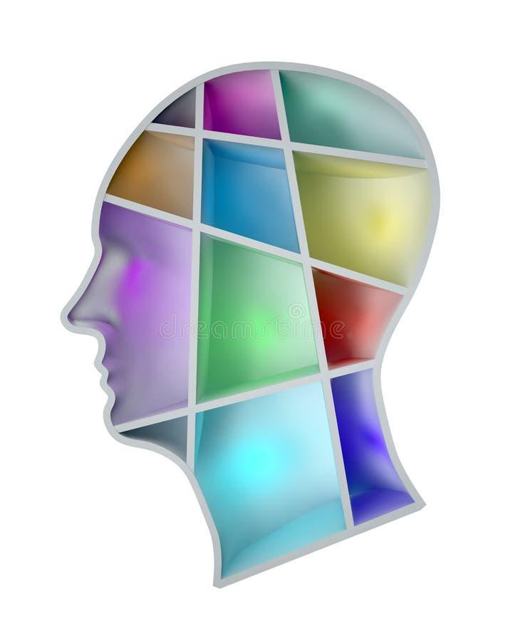 ανθρώπινο μυαλό απεικόνιση αποθεμάτων