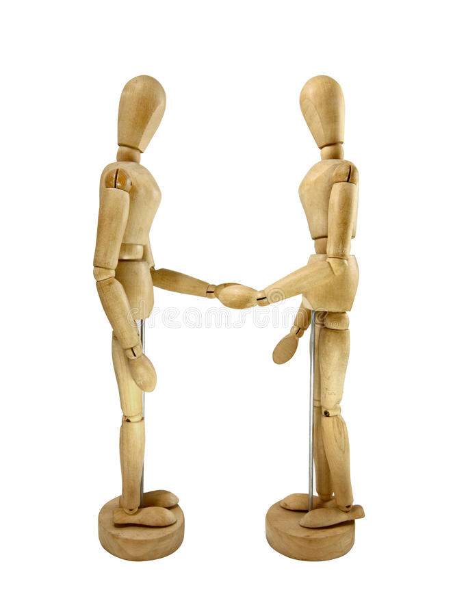 Ανθρώπινο ξύλινο μοντέλο στοκ φωτογραφία με δικαίωμα ελεύθερης χρήσης