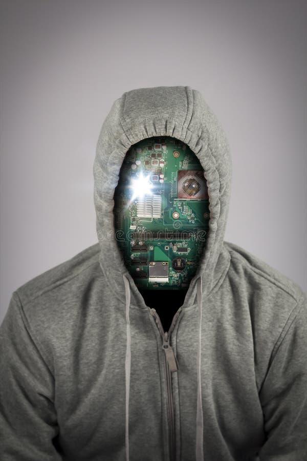 Ανθρώπινο ρομπότ Cyborg στοκ φωτογραφίες