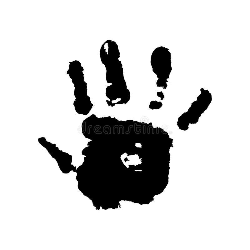 Ανθρώπινο χέρι σε ένα άσπρο διάνυσμα υποβάθρου απεικόνιση αποθεμάτων