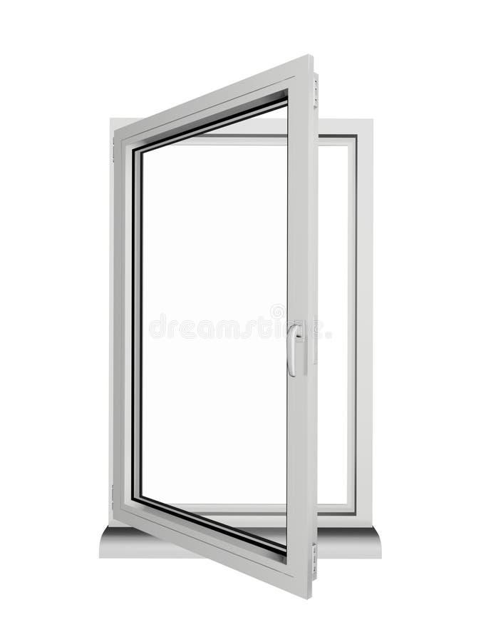 ανοιγμένο παράθυρο ελεύθερη απεικόνιση δικαιώματος