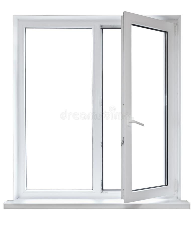 ανοιγμένο πόρτα πλαστικό π&alph στοκ εικόνα με δικαίωμα ελεύθερης χρήσης