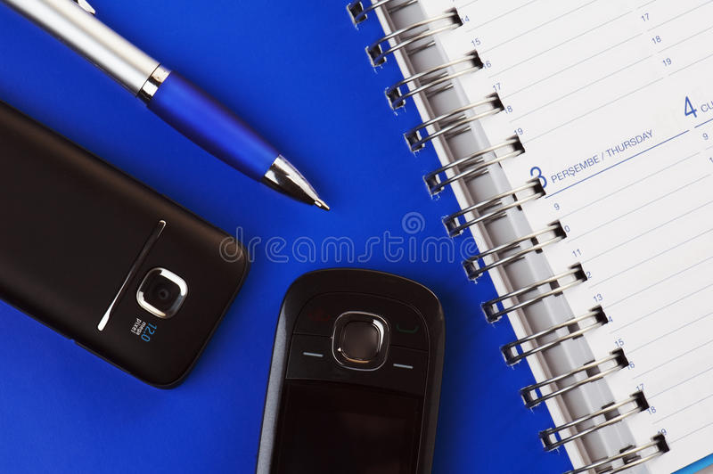 ανοιγμένο σημειωματάριο &t στοκ φωτογραφία με δικαίωμα ελεύθερης χρήσης