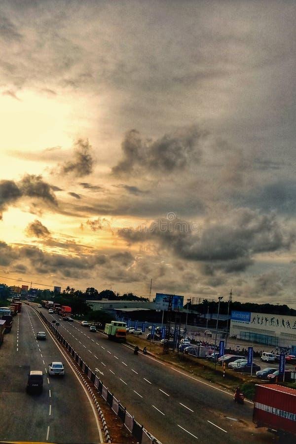 Ανοικτή εθνική οδός στοκ φωτογραφία