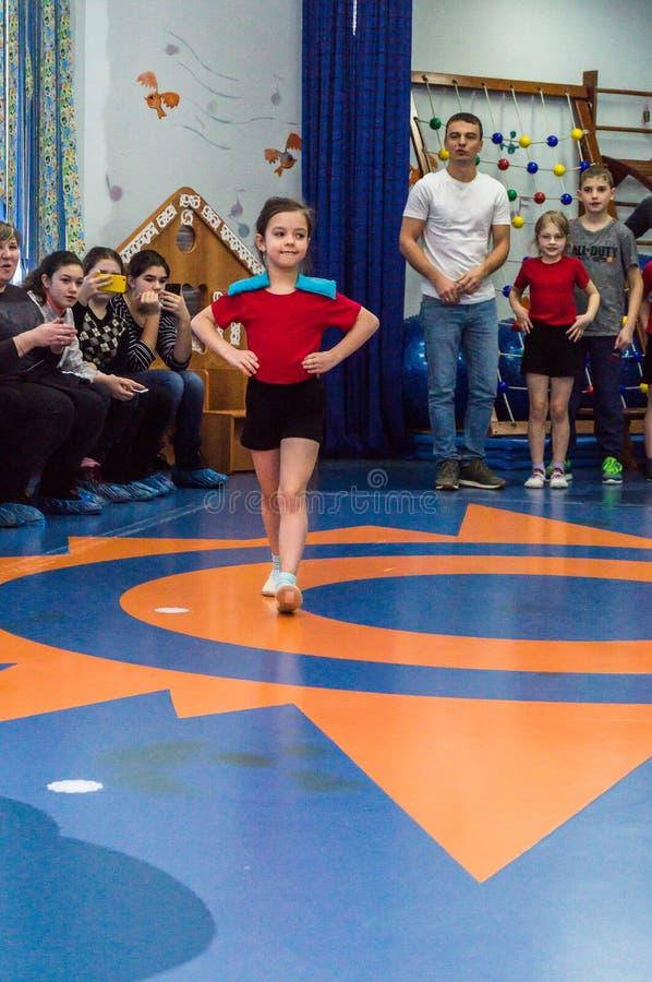 Ανοικτή ημέρα στον παιδικό σταθμό της περιοχής Kaluga της Ρωσίας στοκ φωτογραφία