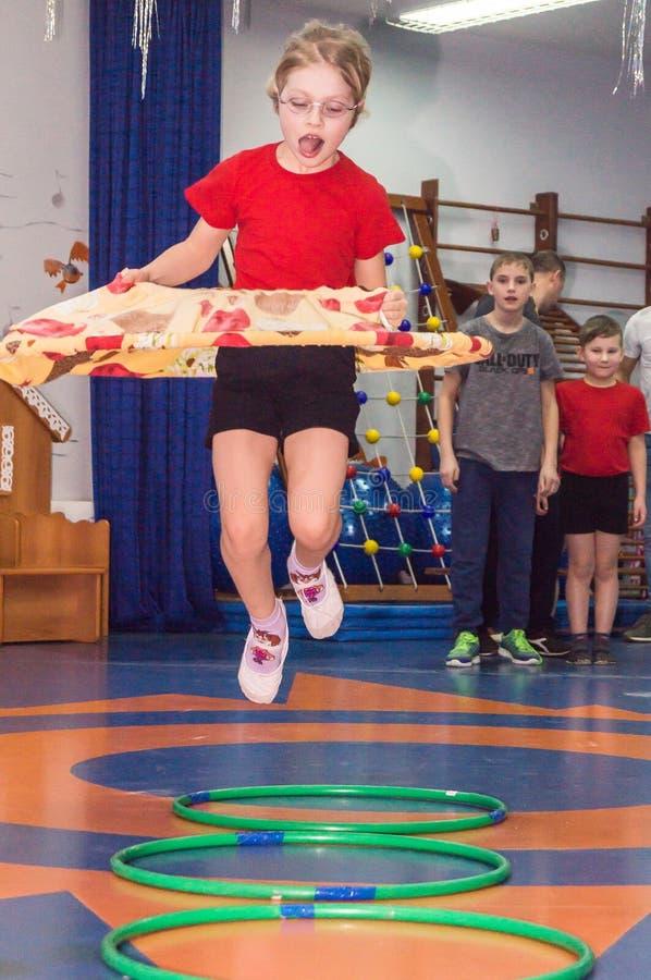 Ανοικτή ημέρα στον παιδικό σταθμό της περιοχής Kaluga της Ρωσίας στοκ φωτογραφίες