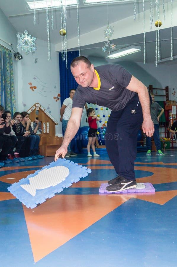 Ανοικτή ημέρα στον παιδικό σταθμό της περιοχής Kaluga της Ρωσίας στοκ φωτογραφία με δικαίωμα ελεύθερης χρήσης
