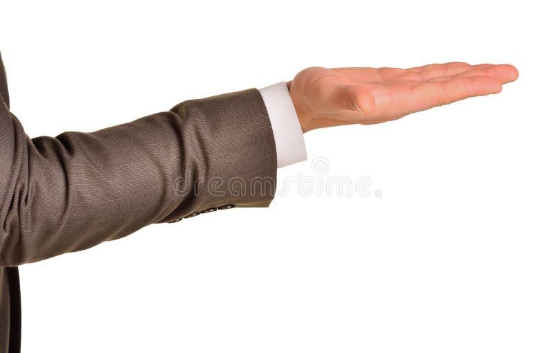 ανοικτή παλάμη χεριών στοκ φωτογραφία