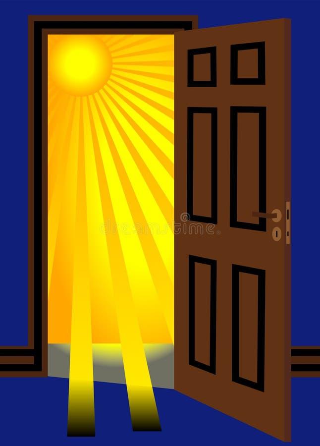 ανοικτός ήλιος πορτών