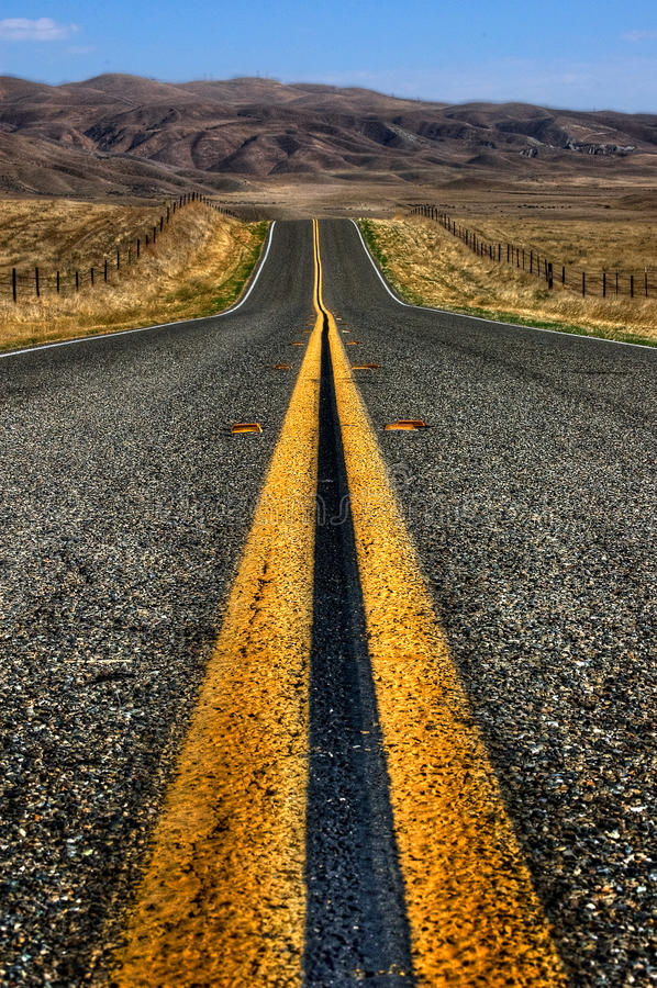 ανοικτός δρόμος στοκ εικόνες με δικαίωμα ελεύθερης χρήσης