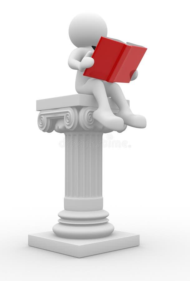 Ανοικτό βιβλίο απεικόνιση αποθεμάτων