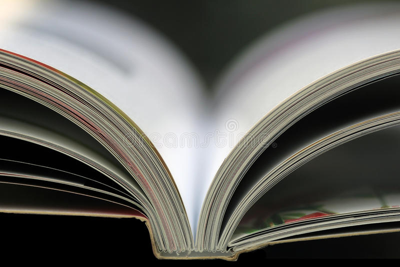 Ανοικτό βιβλίο στοκ εικόνα