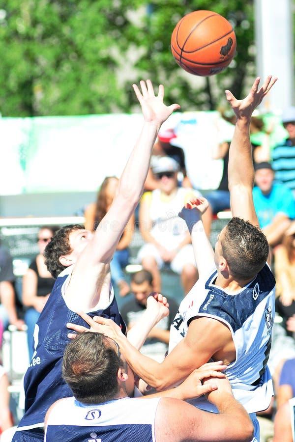 ανοικτό δαιμόνιο streetball Ταλίν τ&om στοκ εικόνες