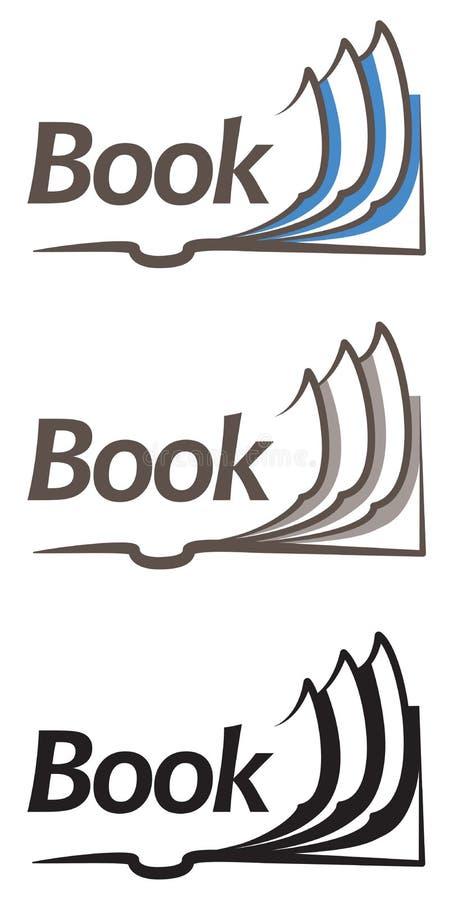 Ανοικτό εικονίδιο βιβλίων ελεύθερη απεικόνιση δικαιώματος