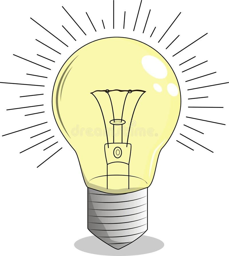 Ανοικτό κίτρινο με τη σπειροειδή ίνα ελεύθερη απεικόνιση δικαιώματος