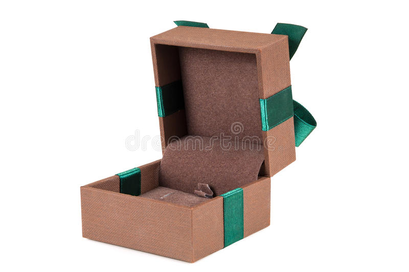Download Ανοικτό κομψό κιβώτιο δώρων κοσμημάτων Στοκ Εικόνες - εικόνα από πολύτιμος, ανασκόπησης: 62723936