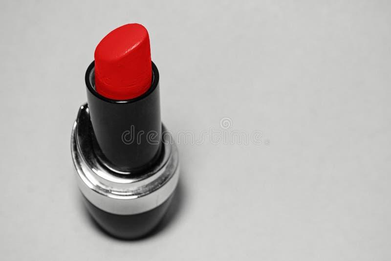 Ανοικτό κόκκινο χρώμα κραγιόν στοκ εικόνα με δικαίωμα ελεύθερης χρήσης