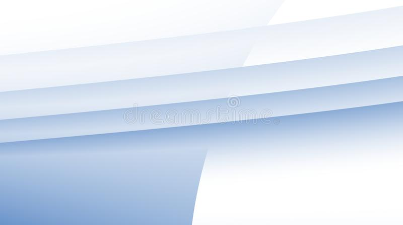 Ανοικτό μπλε άσπρη σύγχρονη αφηρημένη fractal απεικόνιση υποβάθρου απεικόνιση αποθεμάτων