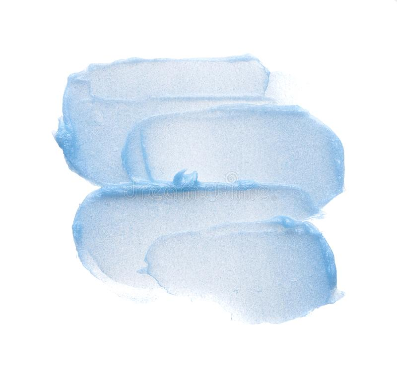 Ανοικτό μπλε κηλίδες στοκ φωτογραφία