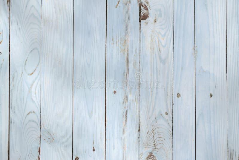 Ανοικτό μπλε ξύλινο υπόβαθρο από τους χρωματισμένους πίνακες στοκ εικόνες με δικαίωμα ελεύθερης χρήσης