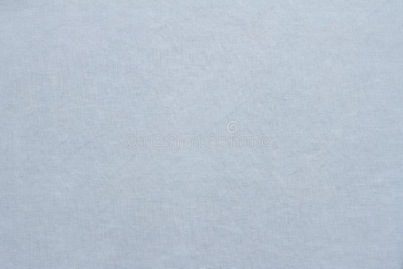 Ανοικτό μπλε ύφασμα, υπόβαθρο ή σύσταση κρητιδογραφιών λινού στοκ φωτογραφίες με δικαίωμα ελεύθερης χρήσης