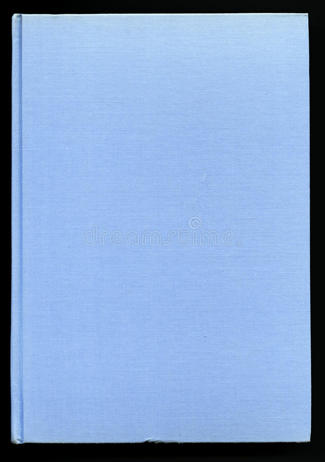 Ανοικτό μπλε κάλυψη βιβλίων στοκ φωτογραφίες με δικαίωμα ελεύθερης χρήσης