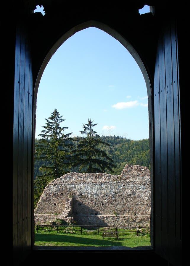 Ανοικτό παράθυρο στοκ εικόνα