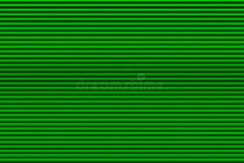 Ανοικτό πράσινο πόρτα γκαράζ στοκ εικόνες με δικαίωμα ελεύθερης χρήσης