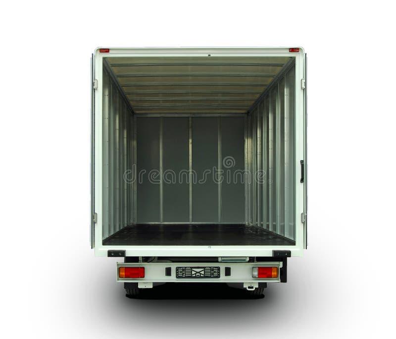 Ανοικτό φορτηγό παράδοσης στοκ φωτογραφία
