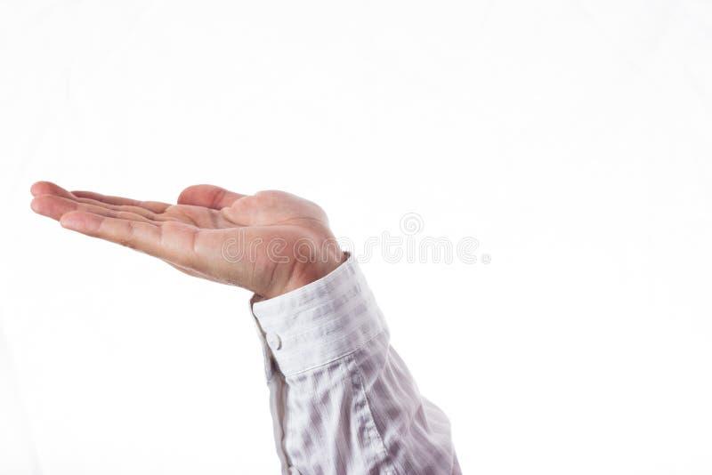 Ανοικτό χέρι στοκ φωτογραφία με δικαίωμα ελεύθερης χρήσης