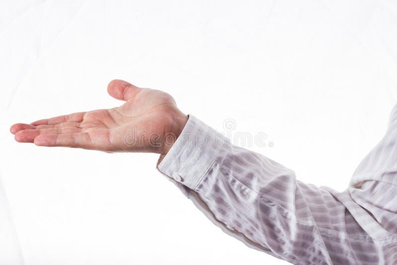 Ανοικτό χέρι στοκ εικόνες με δικαίωμα ελεύθερης χρήσης