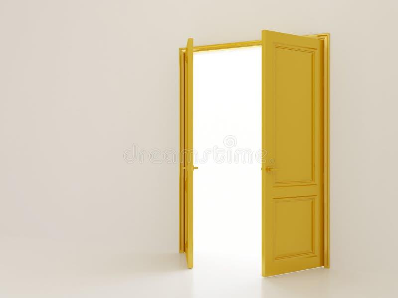 Ανοιχτές πόρτες στοκ εικόνες