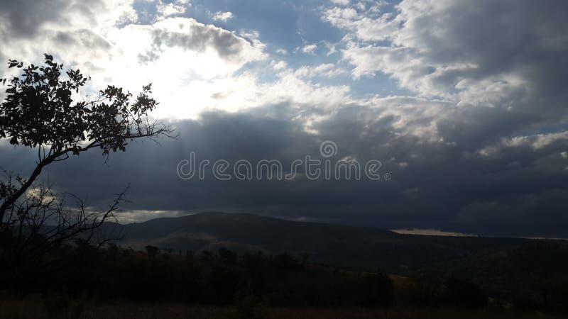 ανοιχτός ουρανός στοκ φωτογραφία