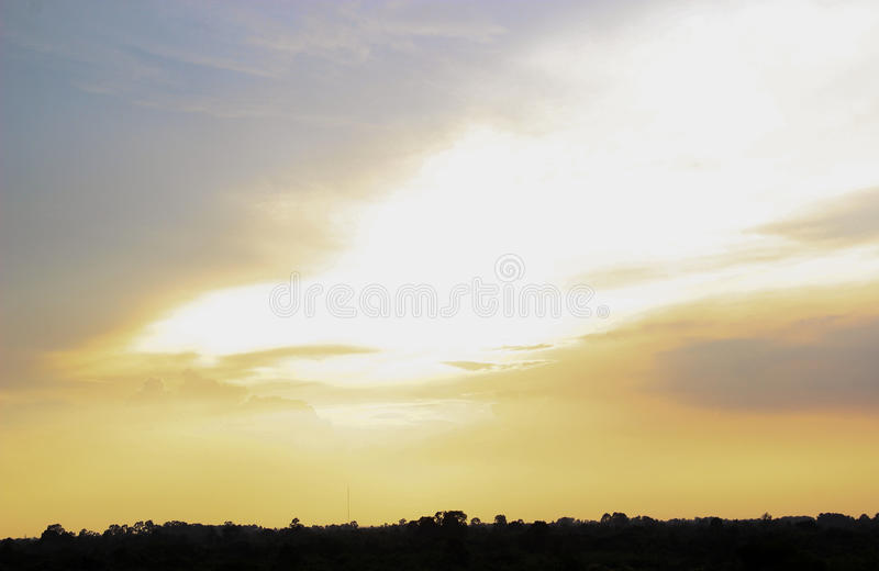 ανοιχτός ουρανός στοκ φωτογραφίες