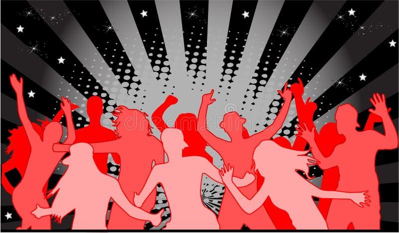 ανοιχτό κόκκινο συμβαλλό διανυσματική απεικόνιση