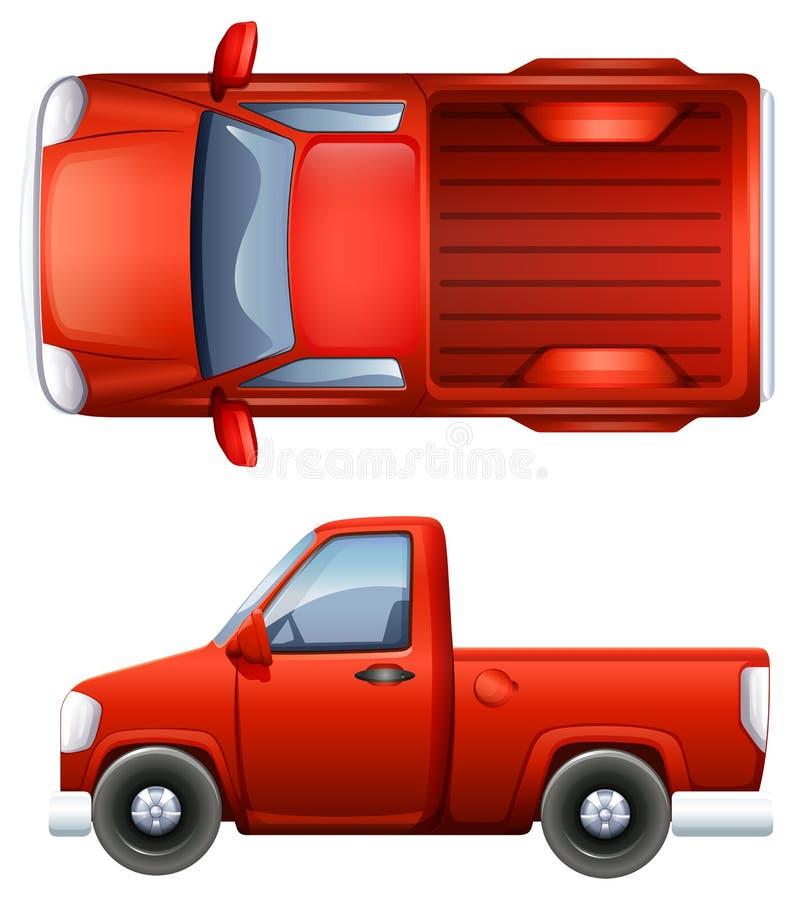 Ανοιχτό φορτηγό απεικόνιση αποθεμάτων
