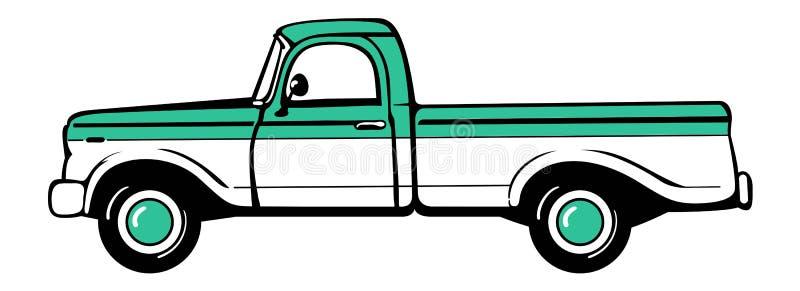Ανοιχτό φορτηγό ελεύθερη απεικόνιση δικαιώματος