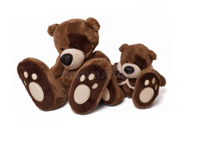 αντέξτε μαλακό teddy ζευγών στοκ εικόνα