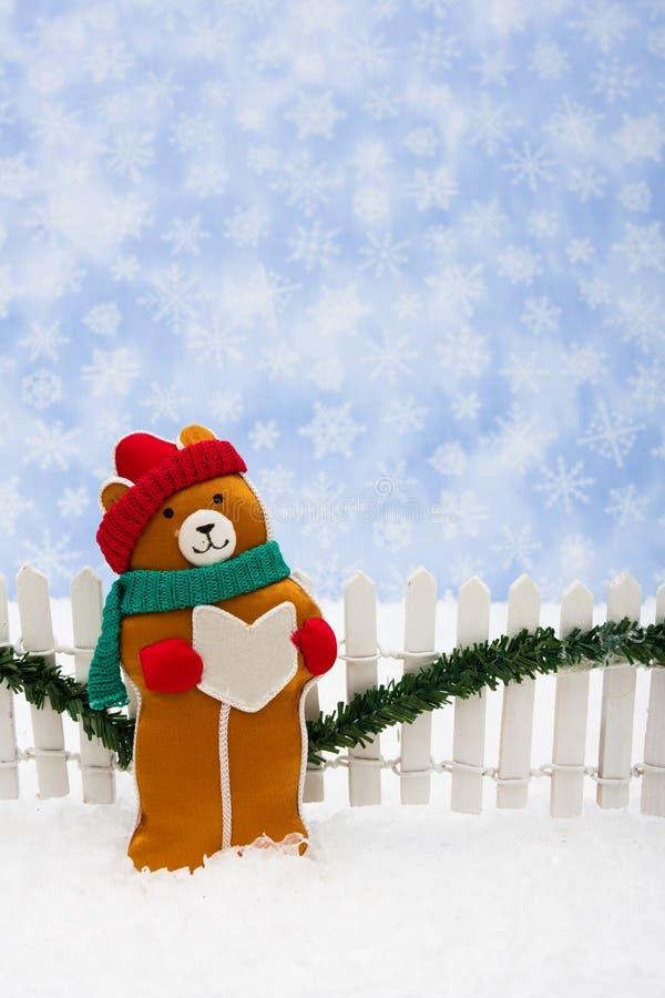 αντέξτε τα Χριστούγεννα στοκ φωτογραφία
