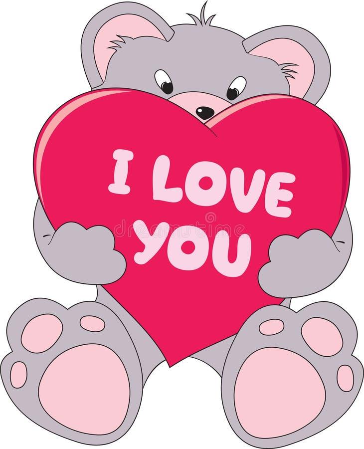 αντέξτε την αγάπη teddy ελεύθερη απεικόνιση δικαιώματος