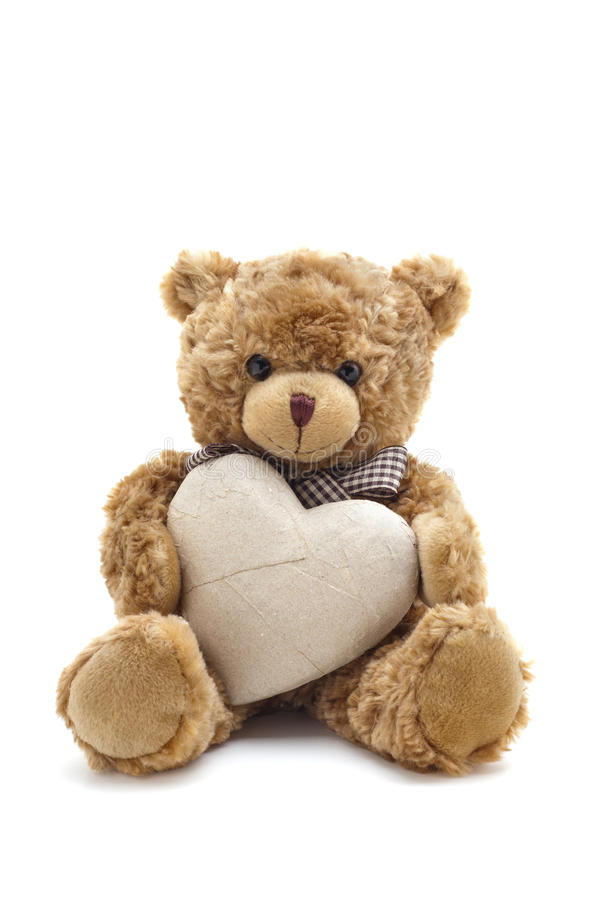 αντέξτε την αγάπη teddy στοκ φωτογραφίες