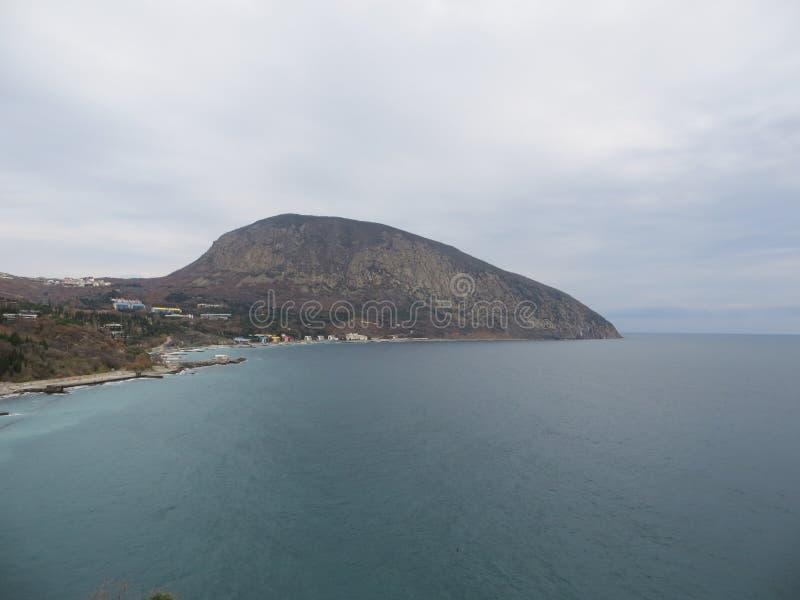 Αντέξτε το βουνό στην Κριμαία στοκ εικόνες