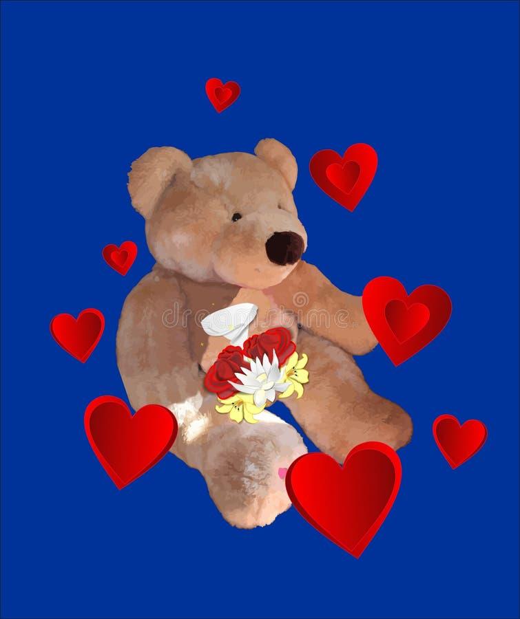 αντέξτε το γλυκό αγάπης διανυσματική απεικόνιση