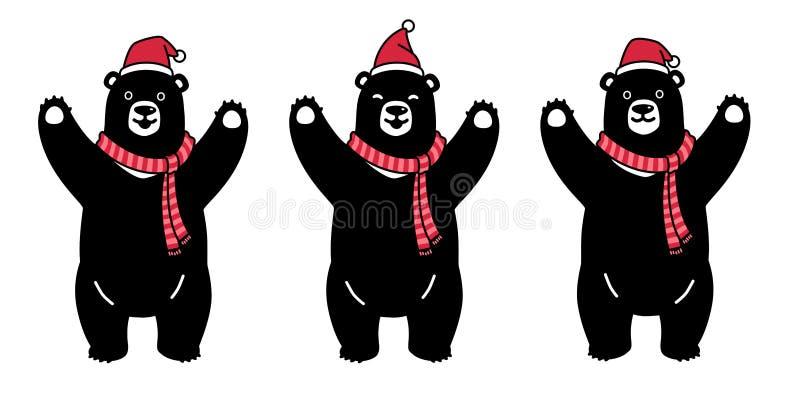 Αντέξτε το διανυσματικό γραφικό Μαύρο συμβόλων απεικόνισης λογότυπων εικονιδίων χαρακτήρα κινουμένων σχεδίων μαντίλι Χριστουγέννω διανυσματική απεικόνιση