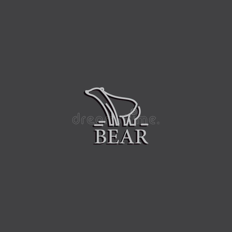 Αντέξτε το λογότυπο εμπορικών σημάτων στοκ εικόνα