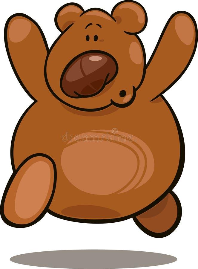 αντέξτε το τρέξιμο teddy ελεύθερη απεικόνιση δικαιώματος