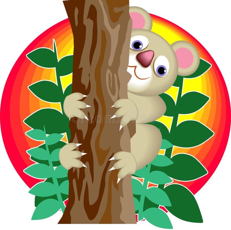 αντέξτε το koala διανυσματική απεικόνιση