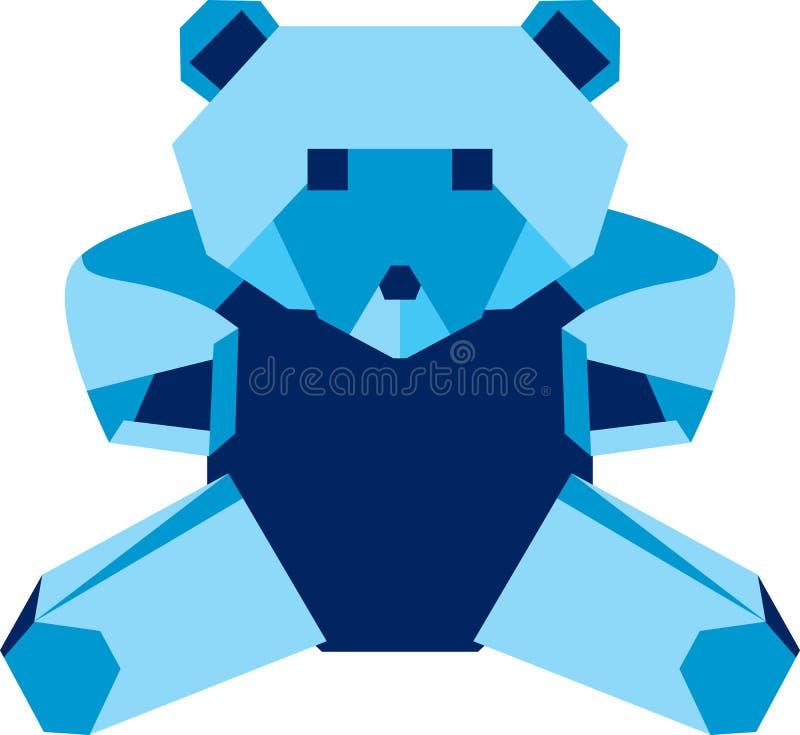 αντέξτε το origami απεικόνιση αποθεμάτων