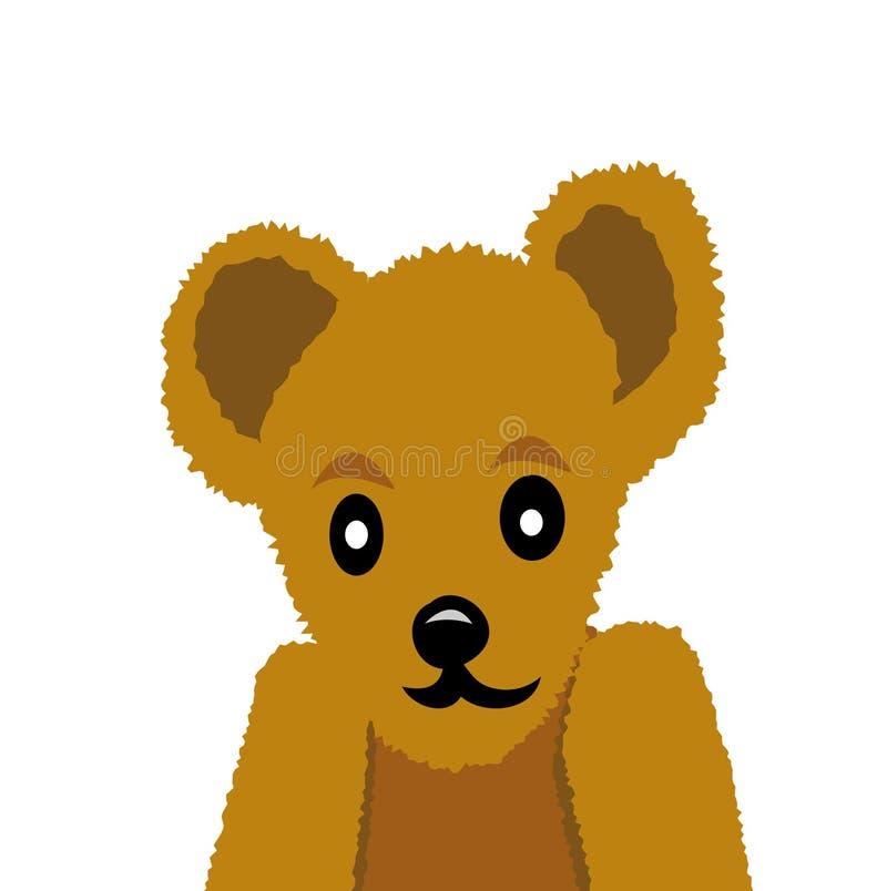 αντέξτε το teddy διάνυσμα απεικόνιση αποθεμάτων