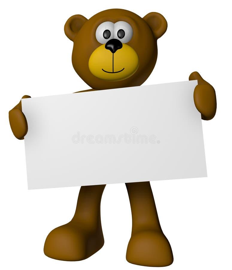 αντέξτε teddy διανυσματική απεικόνιση